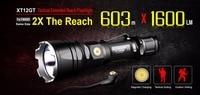 손전등 klarus xt12gt 크리 어 xhp35 hi d4 led 블랙 최대 1600lm 던져 603 미터 마그네틱 충전 토치 3600 mah 배터리