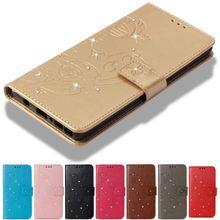 Bling Diamond Case for Coque LG K30 K10 K8 2018 G3 G4 H340 H440 H502 LS770 LS775 Capa Leather Filp Cover Wallet Fundas Bag P03G
