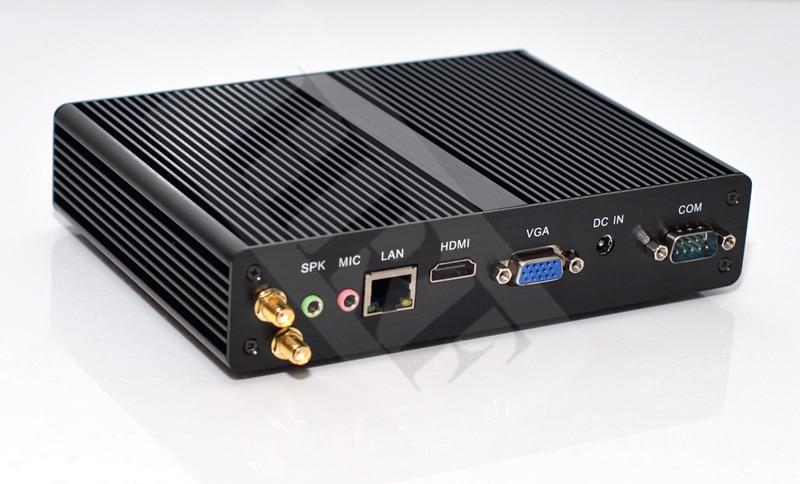 Image 2 - Intel Celeron j1900 Mini PC Windows HDMI+VGA Mini PC windows 7/8 OS RS232 COM*2 Industrial computer-in Mini PC from Computer & Office