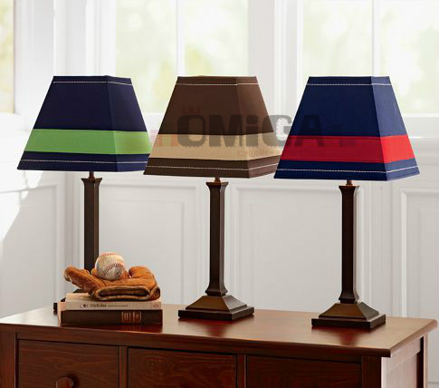 Promotion Fashion Brief Multicolor Fabric Lampshade Decoration Boy - Boy lamps for bedroom
