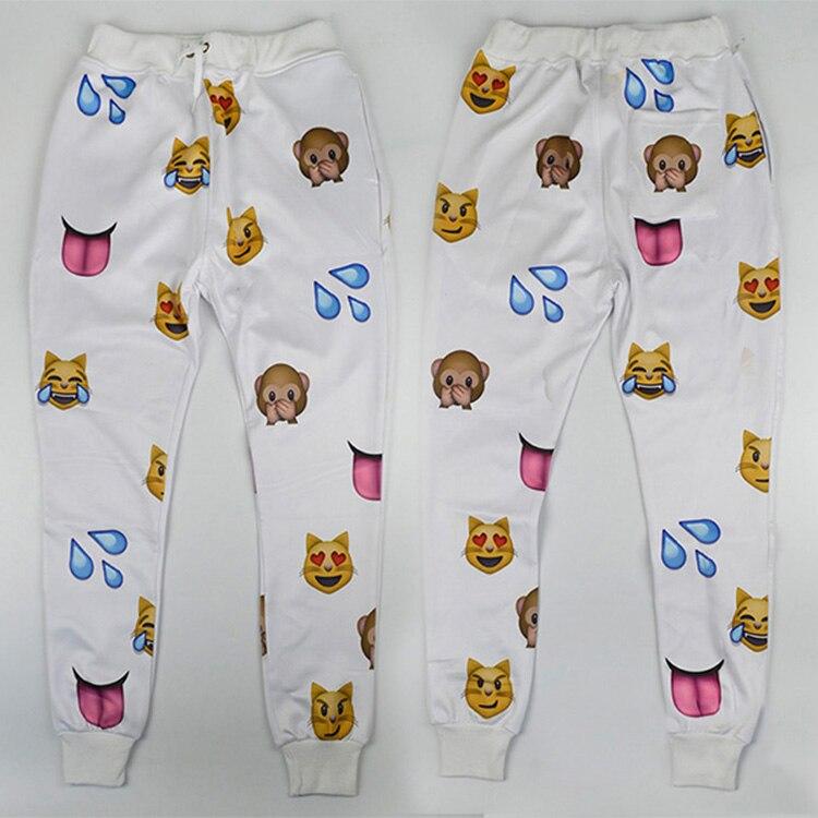 Aliexpresscom  Buy Hot Emoji Style Print Pants Funny -3358