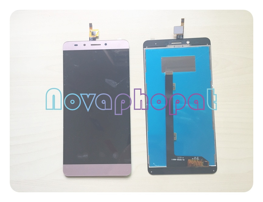 Novaphopat Gold/Gray LCD Screen For Infinix Note 3 X601 Touch screen digitizer Sensor With LCD Display Full Assembly ReplacementNovaphopat Gold/Gray LCD Screen For Infinix Note 3 X601 Touch screen digitizer Sensor With LCD Display Full Assembly Replacement