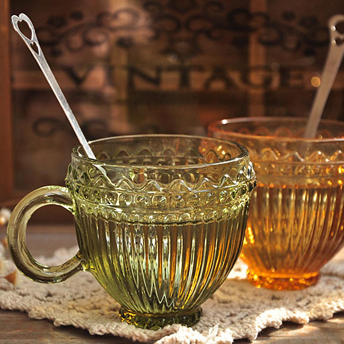 Sevimli Ürək Formalı Paslanmayan Polad Çay infuziyası Qaşıq - Mətbəx, yemək otağı və barı - Fotoqrafiya 2