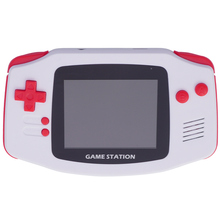 Powkiddy Retro Portable Mini Handheld Game Console 8 Bit 2.8 Inch Hd Color Lcd Kids Player Built-In 400 Games Support Tv