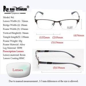 Image 3 - Prescripción gafas de alta elasticidad gafas de Marco rectángulo de diseño óptico gafas miopía progresiva resina gafas