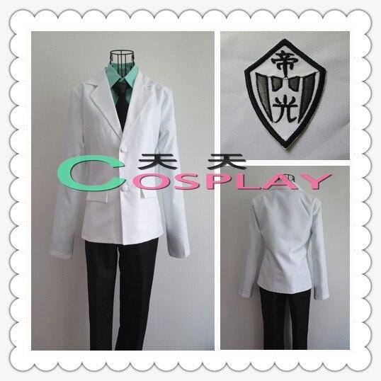Kuroko no Basuke Tetsuya Teiko School Kiseki No Sedai Cosplay Costume Uniform Custom Made Free Shipping