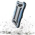 Ip68 r-sólo para iphone 6 6 s cubierta de la caja de aluminio a prueba de agua buceo caja de metal a prueba de golpes para iphone 6 plus con gorila vidrio