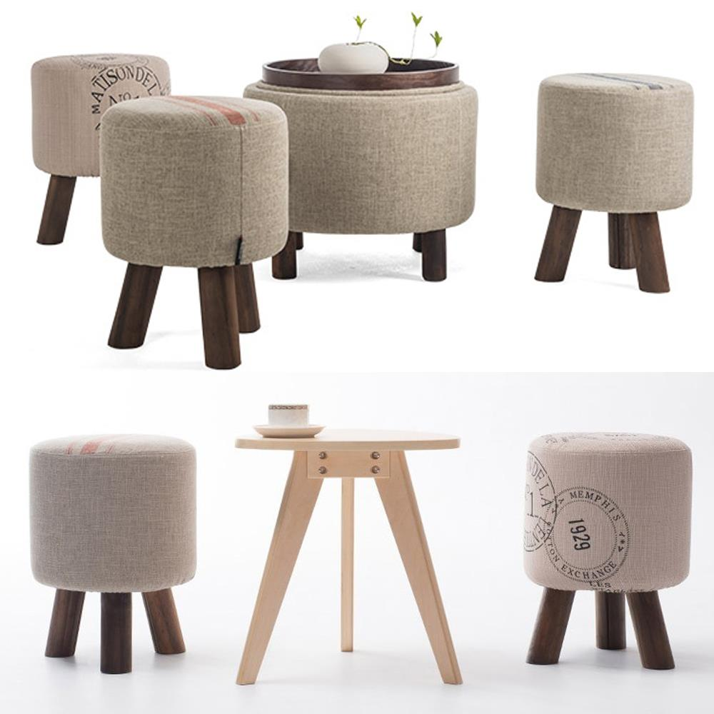 Fashion shoes stool wood ottoman stool dressing minimalist pure cotton fabric sofa,wood furniture wait stool excellent quality simple modern stools fashion fabric stool home sofa ottomans solid wood fine workmanship chair furniture