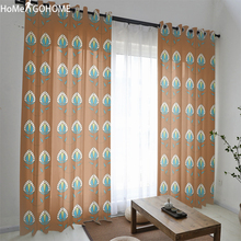 Boho Floral Gordijnen Rideaux Sheer Tulle curtains for Bedroom Door Window Curtain For Living Room Kitchen New House Moved