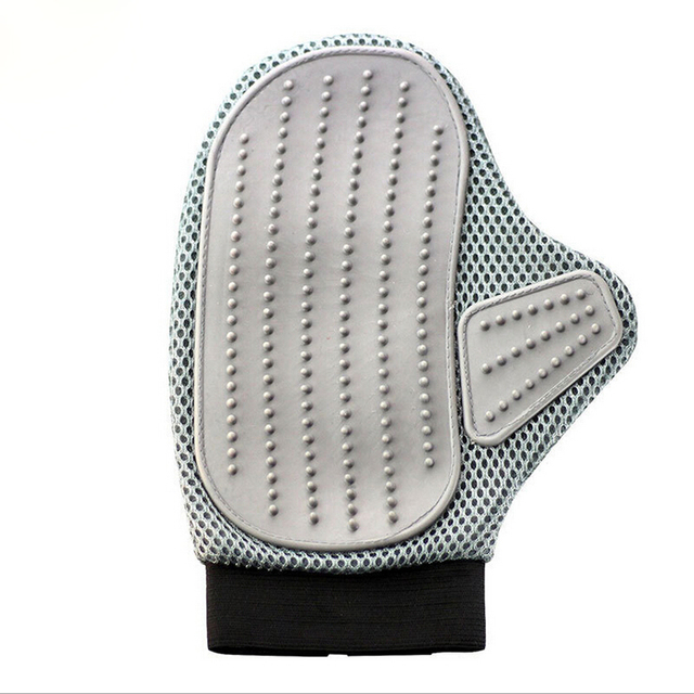 Ture Touch Pet Brush Glove Gentle Efficient Cats Grooming Dogs Cleaning Bath Massage Gloves Dogs Hair Brush Pet Supplies