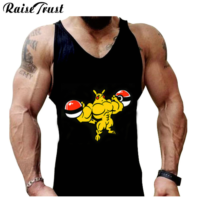 Fitness!New 2019 cotton muscle shirt golds brand clothing   tank     top   men sleeveless   tops   bodybuilding stringer vest plus size