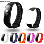 6 Colors 2017 Replacement Silicon 200 mm Smart Watch Quick Release Kit Band Strap For Huawei Honor 3 Smart Band 2017 SE25b