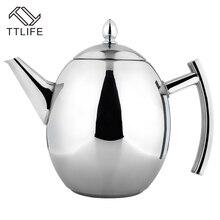 Ttlife 2017 hohe qualität 1000 ml/1500 ml kaffee wasserkocher stil tee und kaffee tropf wasserkocher topf edelstahl kaffee wasserkocher teekanne