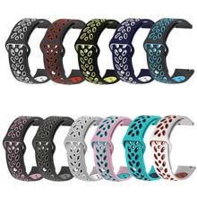 Silikon Strap Für Xiaomi Huami Amazfit Bip GTS Smart Uhr Sport Armband Für Garmin Vivoactive3/Samsung Galaxy Uhr 42mm