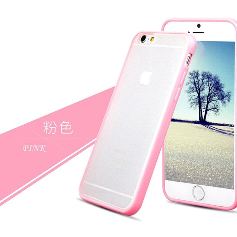 best service 5b26b 8bcd1 Clear Matte Silicon Case For Iphone 6 S 6S 7 7S Iphone 8 Plus X 10 5 5S 5SE  6Plus 6Splus 7Plus 8Plus Cover