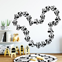 Luxuriant Cartoon Art Sticker Waterproof Wall Stickers For Baby Kids Rooms Decor Decoration