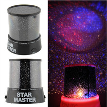New Hot Colorful Star Sky Romantic Gift Cosmos Star Master Projector LED Starry Night Light Lamp Home Display Bedroom Toy Gift