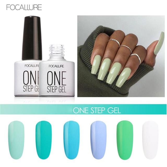 Focallure Brand Nail Art UV Gel Polish Long Lasting Pigment Blue ...