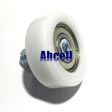 5 шт. Ahcell 30 мм подшипник раздвижной двери, роликовый конвейер, угол передачи, угол поворота, шпилька, болт, стержень, конец роликового колеса