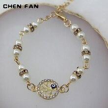 CHENFAN tree of Life bracelets bangle bracelet Womans bangles for women pearl womens cuff Devils Eye jewelery
