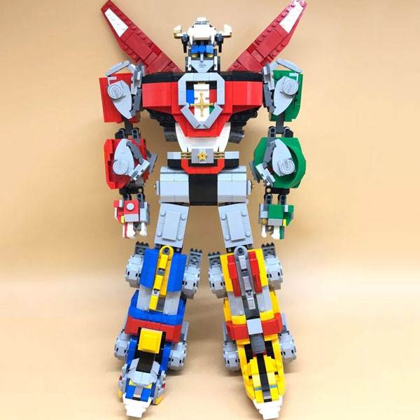 Ideas Series Voltron Defender of The Universe Model Building Block Bricks Toys Compatible With Legoings 21311