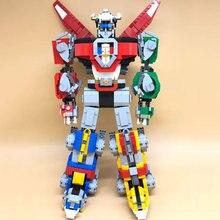 Идеи серии Voltron защитник Вселенной Модель Building Block кирпичи игрушечные лошадки Совместимость с Legoings 21311 Рождественский подарок