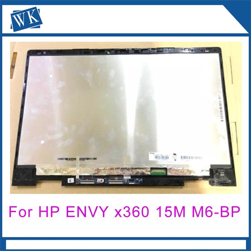 """מחשב נייד 15.6 """"LCD מסך Digitizer הרכבה מסגרת עבור HP ENVY x360 15 M M6-BP 15M-BP112DX N156HCA-EBB"""