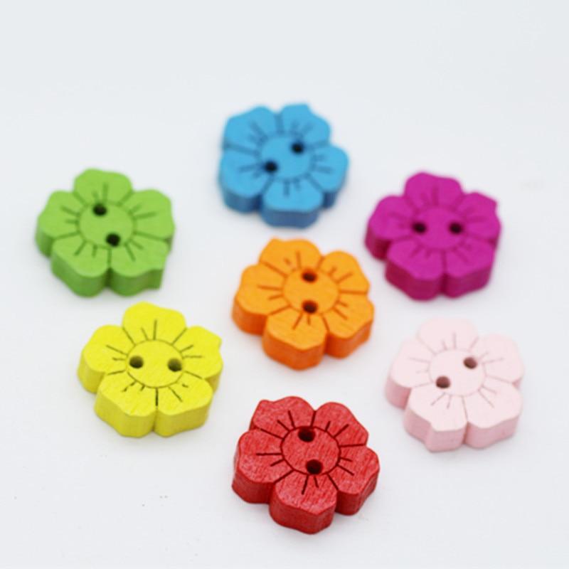 5 Botones de Fútbol-en 8 Colores 15mm