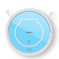 Robot Vacuum Cleaner Home Household 1000Pa Suction Sweep Machine For Pet Hair Anti Collision Self Charging