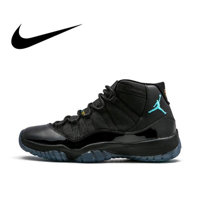 D'origine Nike Air Jordan 11 Rétro chaussures de basket de Gagner Comme 96 Hommes D'espadrilles de Sport Chaussures De Créateurs 2018 Nouveau 378037- 006