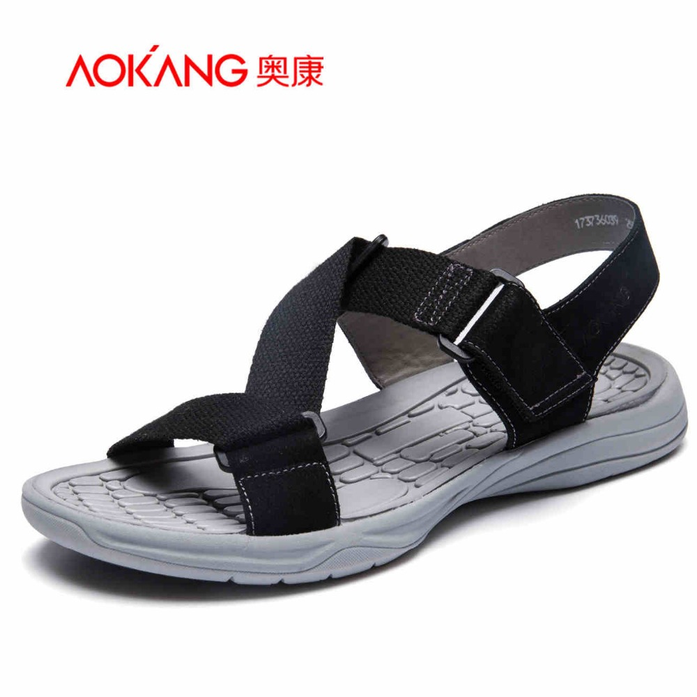 Aokang 2017 New Summer Shoes Fashion Sums