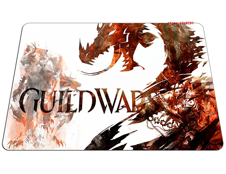 guild wars 2 mouse pad rusty Style gaming mousepad cool gamer mouse mat pad game computer padmouse keyboard large play mats