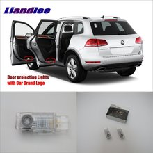Liandlee Car LED Courtesy Welcome Lights For VolksWagen VW Touareg 2004~2010 Projector Light Of Lamp Vehicle Door