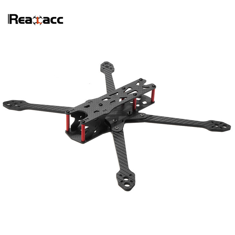 Realacc Martian IV 7 Inch 300mm Wheelbase 4mm Arm Carbon Fiber Frame Kit For RC Racing Drone FPV Models Spare Part DIY Accs nidici kun h5 227mm wheelbase 5mm arm 3k carbon fiber 5 inch fpv racing frame kit for rc drone multirotor diy spare parts accs