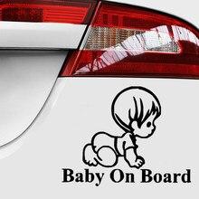 Bady наклейки на машину тюнинг Авто Стайлинг авто товары Предупреждение ющие декоративная обертка я везде