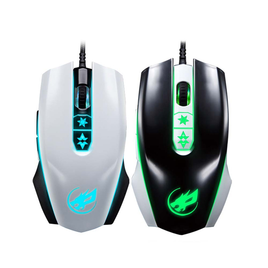 Best Price 3200 DPI 7D Buttons LED Wired Gaming Mouse For PC Laptop