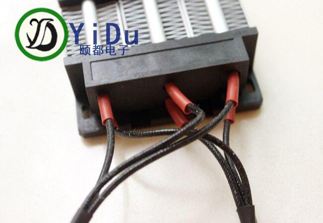 AC DC 12 В в 150 Вт PTC нагревательный элемент нагреватель Электрический керамический Термостатический 3 ряда