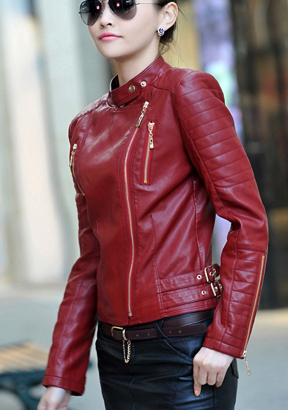 Popular Girls Leather Motorcycle Jackets-Buy Cheap Girls Leather ...