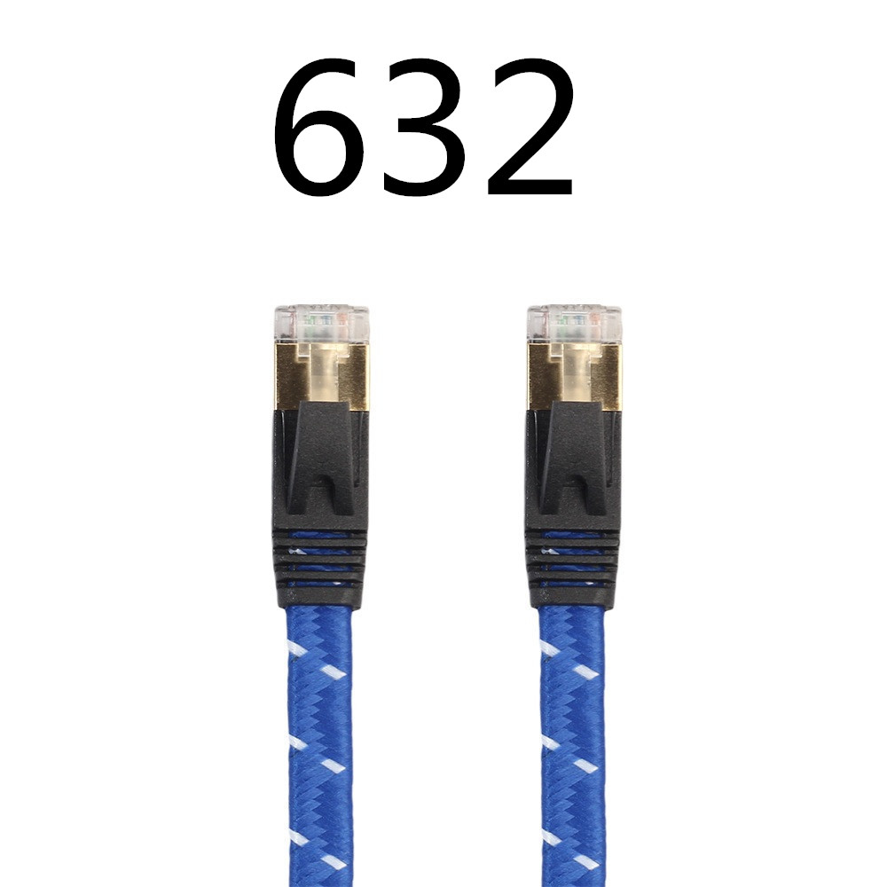 ABDO 2018 Manufacturer Direct Selling Cat6A Flat Network Jump RJ 45 Anaerobic Copper High Speed Computer