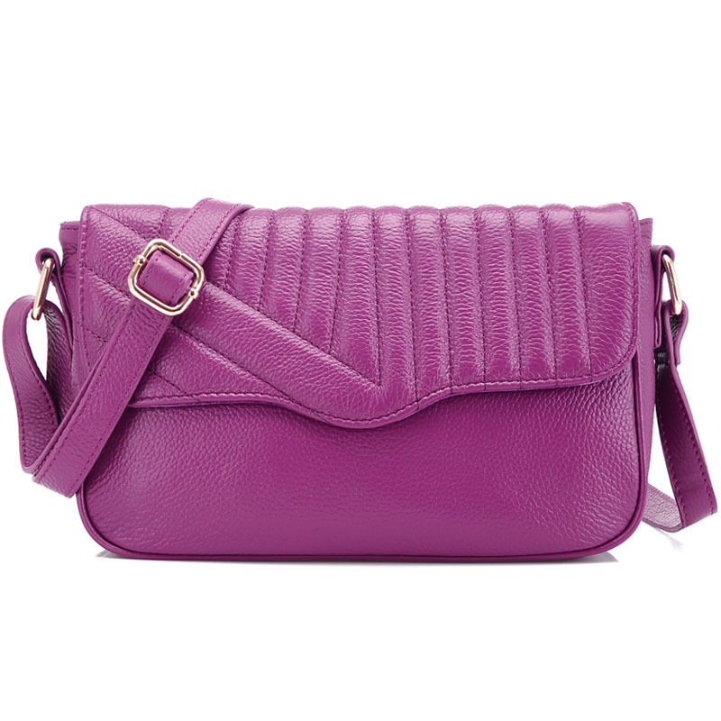 ab4e5985520 La moda de compras de viajes mensajero de las mujeres con cuero genuino de  alta calidad femenino bolsas de hombro casual bolsos de la mujer 2015
