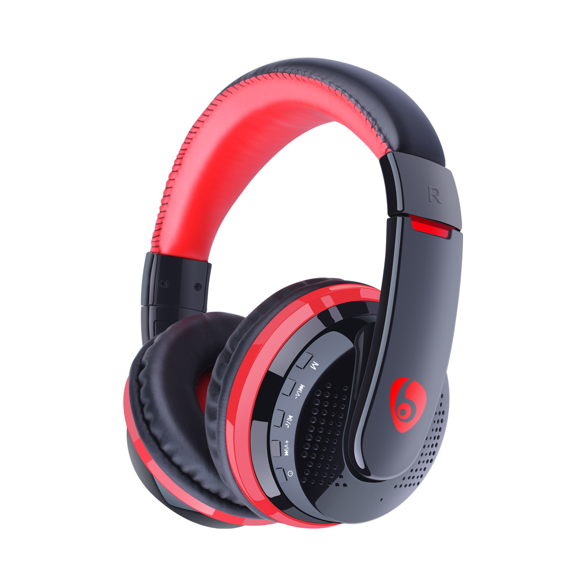 On-Ear Bluetooth Headphone With F, HIFI Card MP3 Player Bluetooth Headset Wireless Earphone With 3.5mm AUX Cable For Phone TV PC