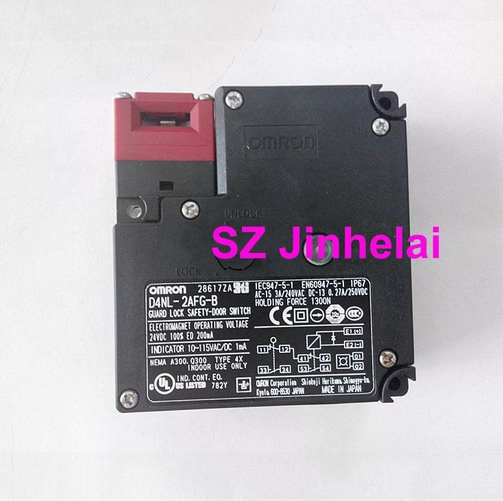 OMRON D4NL-2AFG-B authentique original garde serrure sécurité-porte interrupteur