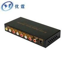 Coaxia5.1CH SPDIF Цифровой Аудио Декодер С USB Multi-Media ДЛЯ AV 2.1 Оптическое волокно превратить 5.1 audioDTS AC-3 продажи оптовая