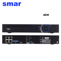 48V 802 3af ONVIF 2 3 8CH POE NVR H 264 Network Video Recorder For POE