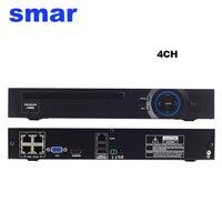 48V 802 3af ONVIF 2 3 8CH POE NVR H 264 Network Video Recorder For POE