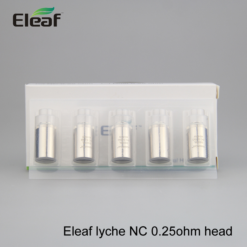 Hottest promotion original Eleaf Replacement Coil Eleaf lyche NC 0.25ohm head for Eleaf lyche Atomizer kit free shipping