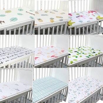 Baby Bed Wieg.Pasgeboren Baby Wieg Hoeslaken Zacht Ademend Baby Bed Matras Cover