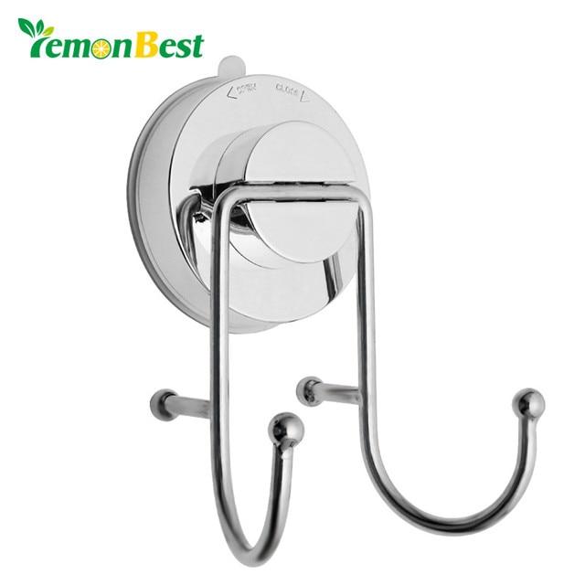 aliexpress com buy lemonbest bathroom towel hook suction cup hooks