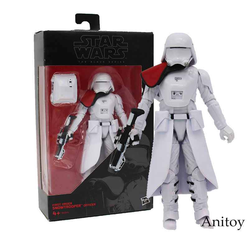 Star Wars The Black Series Snowtrooper PVC Action Figure Collectible Model Toy 15cm new hot star wars 7 the force awakens kylo ren pvc action figure collectible model toy 16cm