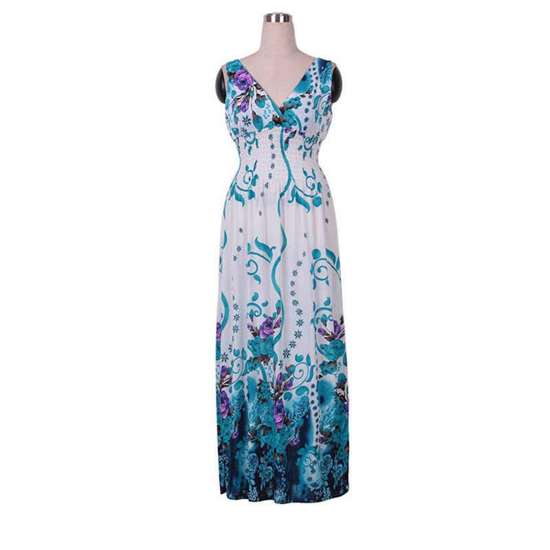 素敵な永遠のボヘミアンビーチスパゲッティストラップドレスマキシロング女性サマードレス 053